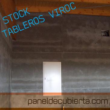 Instalador de tableros de Viroc para fachadas e interiores. Stocks 240,x0,55.