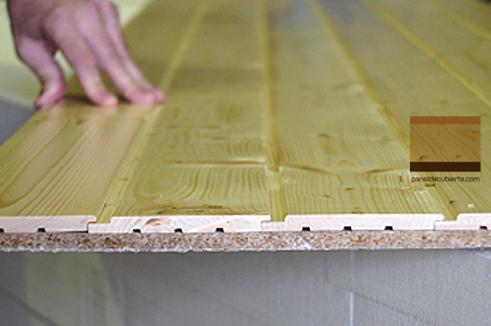 Cubierta de panel de madera para colegio