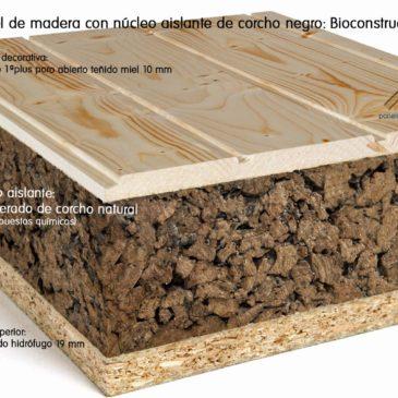 Actualidad paneles de madera para tejados y cubiertas - Corcho aislante acustico ...