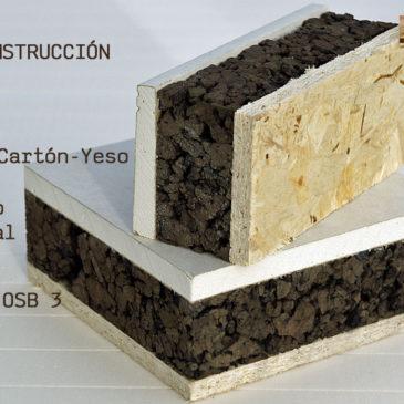 Bioconstrucción y panel de corcho natural