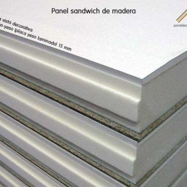 Panel de madera para cubierta acabado decorativo placa de yeso laminado PYL.