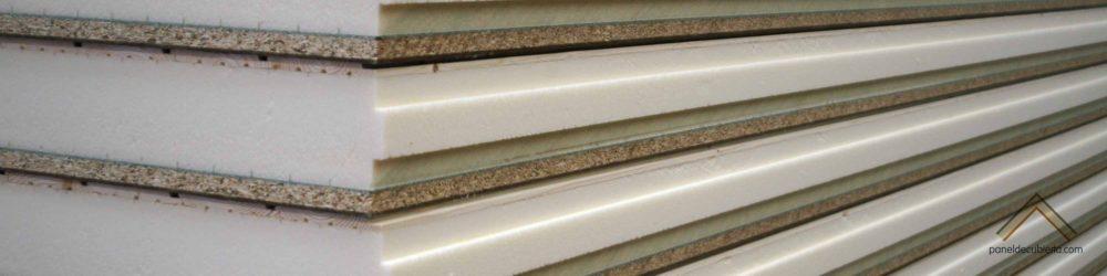 Panel sandwich de madera con núcleo aislante para cubiertas, entreplantas y tabiques.
