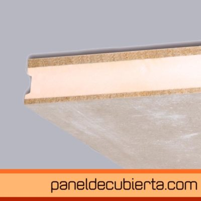 panel de cubierta cemento madera XPS cemento madera viroc