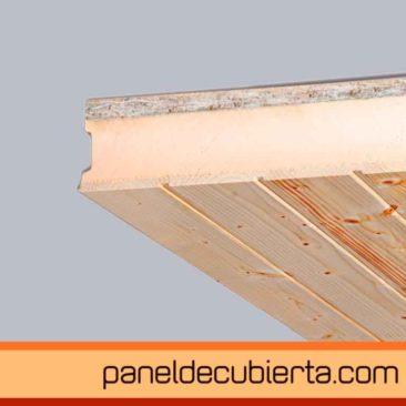 panel de cubierta friso abeto  XPS OSB 3
