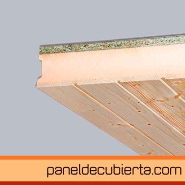 panel de cubierta friso abeto  XPS aglomerado hidrofugo