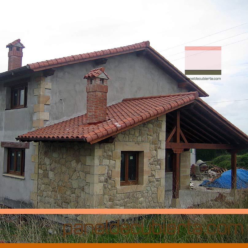 Ventajas del panel de madera para cubiertas y tejados for Tejados de madera vista