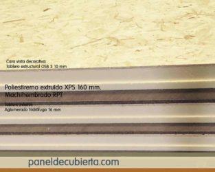 Panel OSB 3 XPS 160 mm.