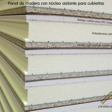 Panel de madera acabado cartón-yeso