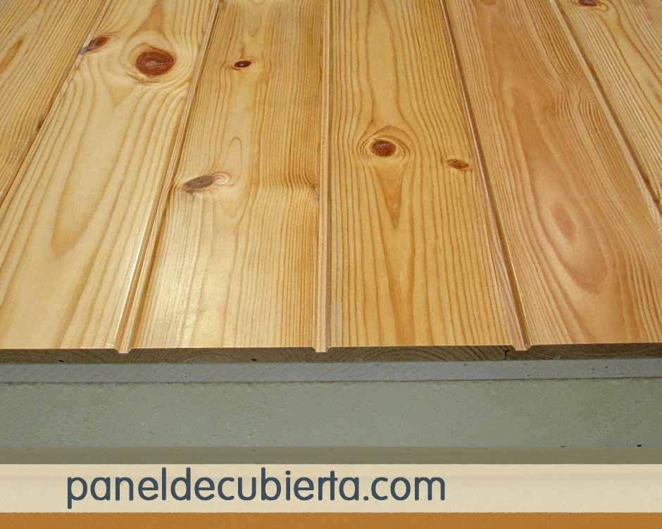 Panel sandwich acabado en madera pino rojo - Madera de pino ...