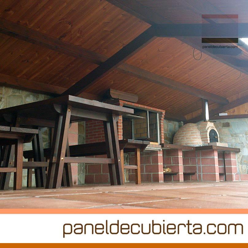 Ventajas del panel de madera para cubiertas y tejados for Tejados y cubiertas de madera