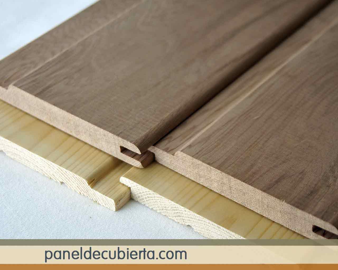 Moldura de friso de madera.