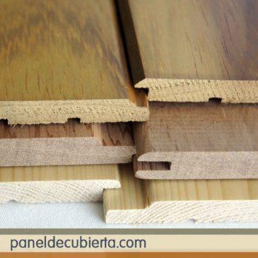 Preciosos frisos de madera para techos y cubiertas