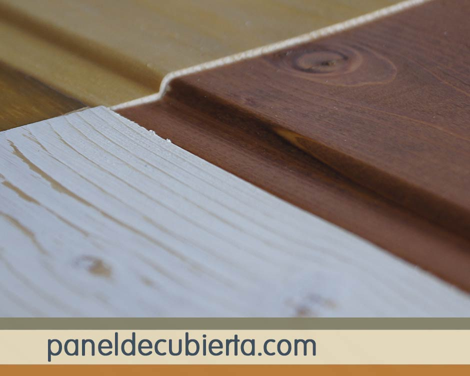 Acabados del panel en madera natural Madrid.