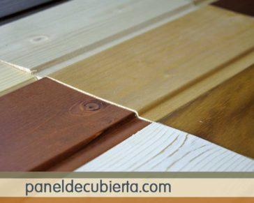 Diferentes acabado en friso madera Madrid.