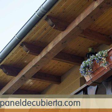 Panel madera Madrid.