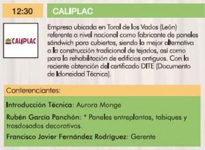 Caliplac III Jornadas de la madera para construcción.