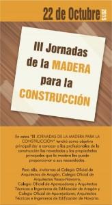 III Jornadas de la madera para la construcción. 2015.