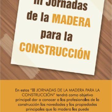 III Jornadas de la madera para construcción 2015