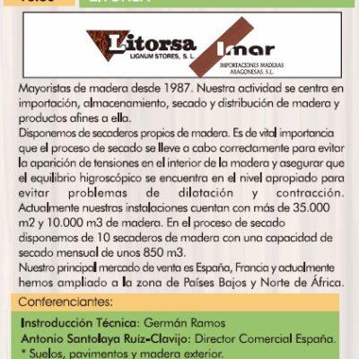Litorsa III Jornadas de la madera para construcción. 2015.