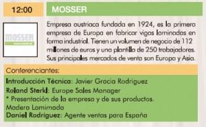 Mosser III Jornadas de la madera para construcción. 2015.