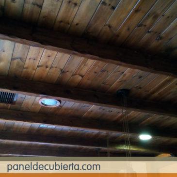 Paneles prefabricados de madera para cubiertas, entreplantas y trasdosados.