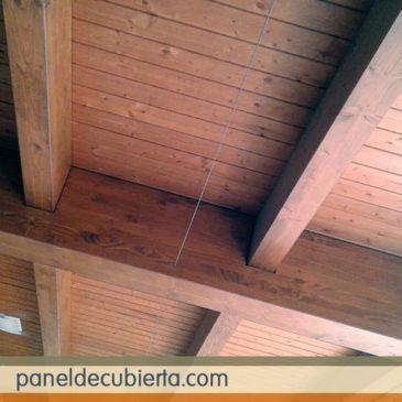 Como son los paneles de corcho como núcleo aislante de los paneles de madera.