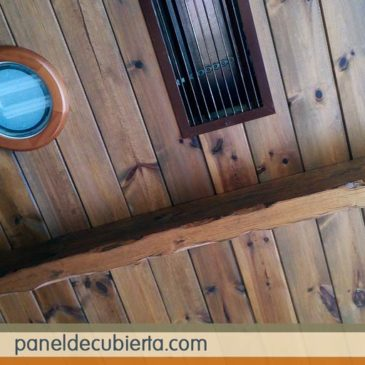 Fotos de techos de madera rústicos con aislamiento térmico.