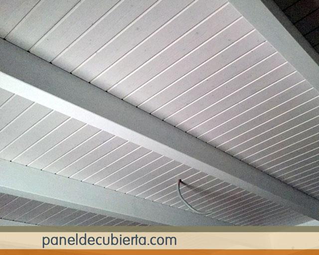 Los m s bonitos paneles decorativos de madera abeto blanco for Tejados de madera precios