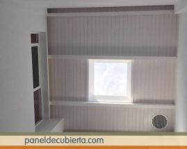 Madera panel para tejados y cubiertas. Todos los acabados. Madrid paneles sandwich.