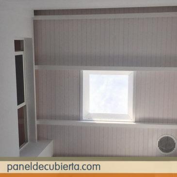 Madera panel para tejados y cubiertas.