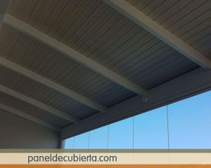 Precioso panel de madera terrazas y porches. Fabricante de paneles acabados decorativos. Paneles Valencia.