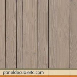 Friso TRILAMA de panel sandwich de madera con núcleo aislante para cubiertas aligeradas. Panel friso decorativo.