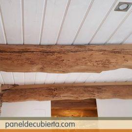 Friso madera blanco para techo