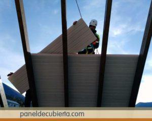 Colocar panel de madera.