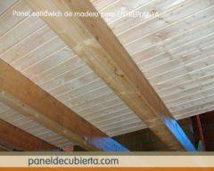 Abeto madera panel entreplanta.